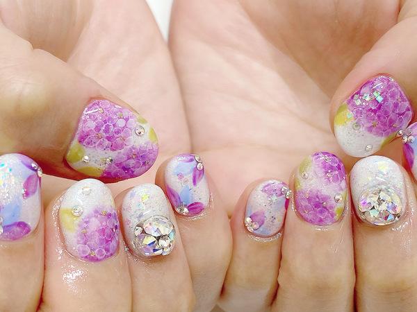 Hydrangea Nailのサムネイル