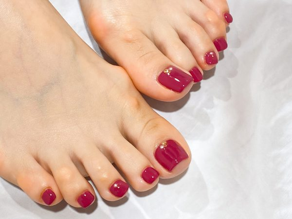 Plum red one colorのサムネイル