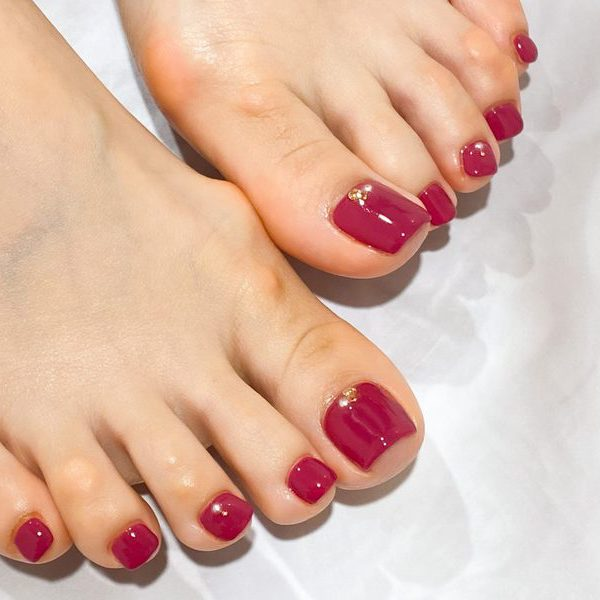 Plum red one color
